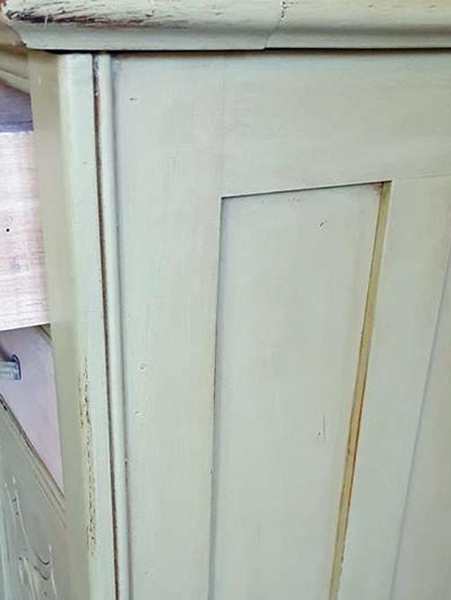 cabinet side detail